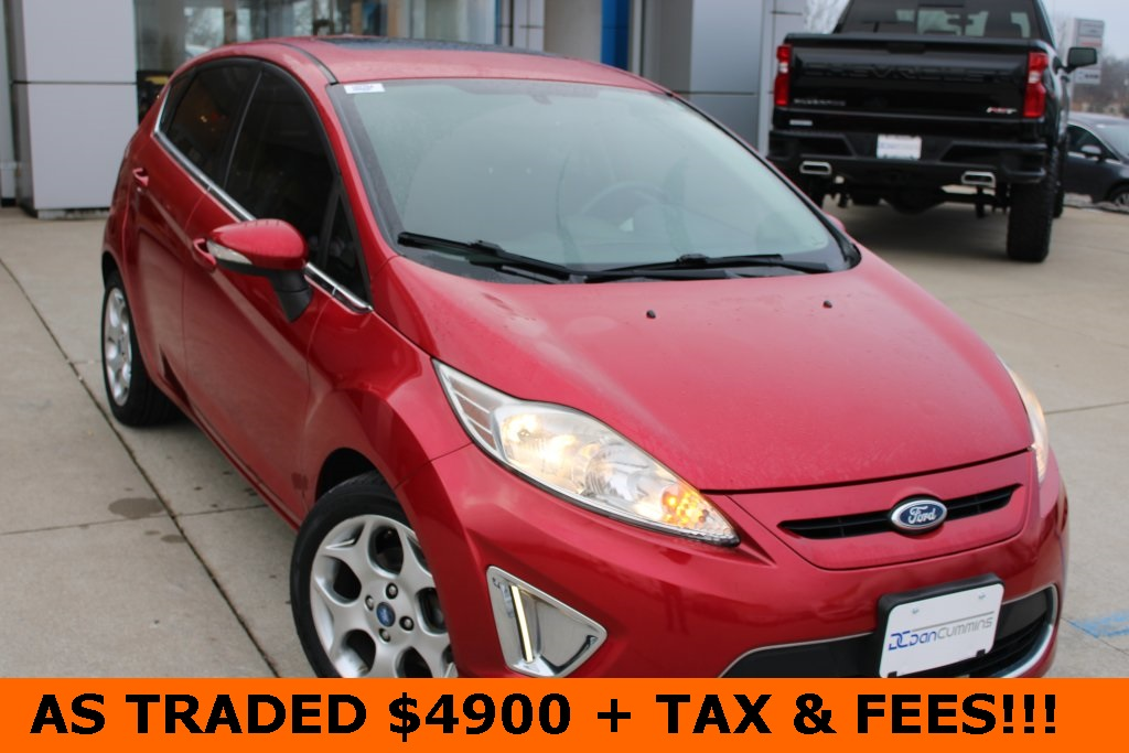 Pre-Owned 2012 Ford Fiesta SES