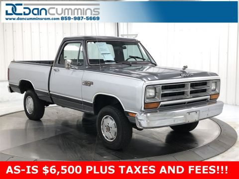 Pre-Owned 1988 Dodge D150 Base