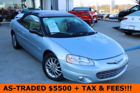 Pre-Owned 2003 Chrysler Sebring Limited