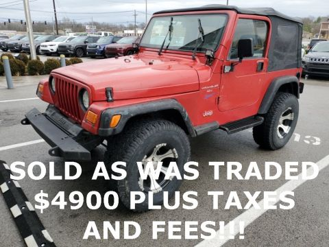 Pre-Owned 1997 Jeep Wrangler Sport