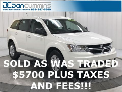 Pre-Owned 2012 Dodge Journey AVP